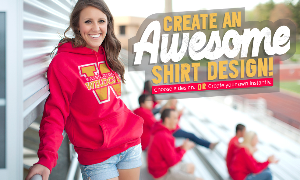 Create an awesome shirt design!