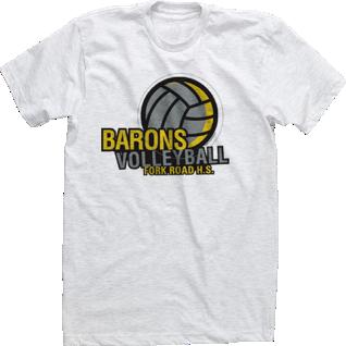 High school volleyball shirts designs for Custom high school shirts