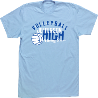 High school volleyball shirt images for Custom high school shirts