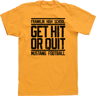 high school football t shirt designs image market student council t