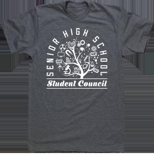 efe8e6058 Image Market: Student Council T Shirts, Senior Custom T-Shirts, High ...