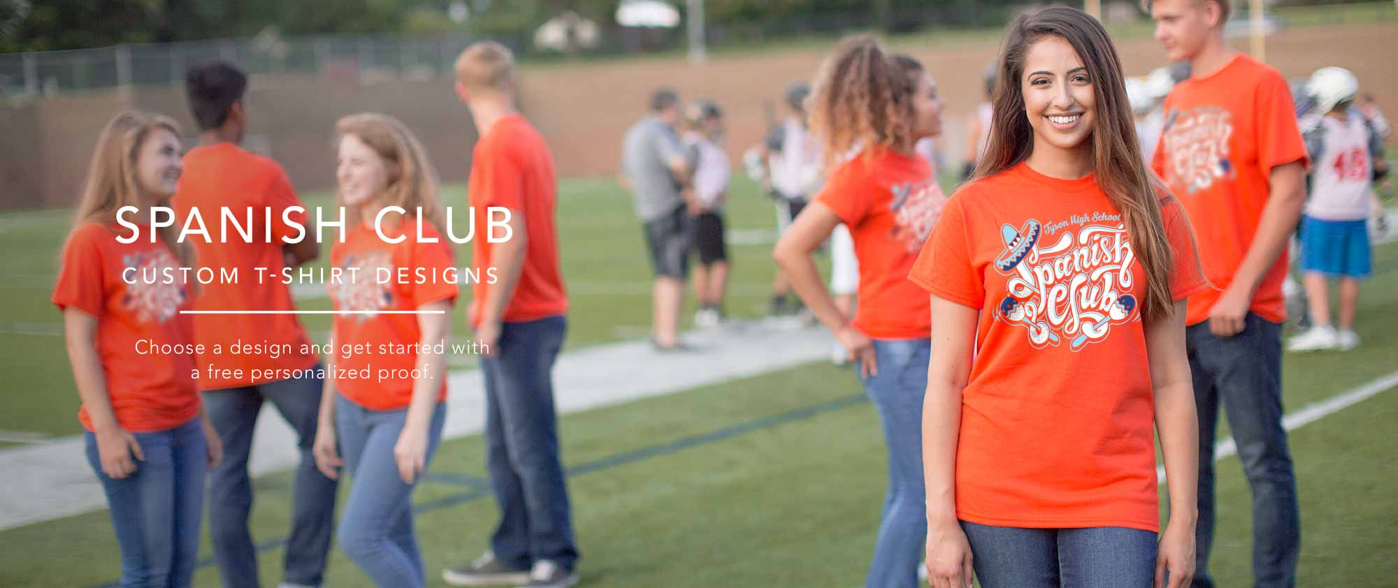 ca8976cc Image Market: Student Council T Shirts, Senior Custom T-Shirts, High School  Club TShirts - Choose a Design to Create Custom T-shirts for Any High  School ...